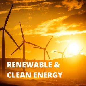 RENEWABLE & CLEAN ENERGY