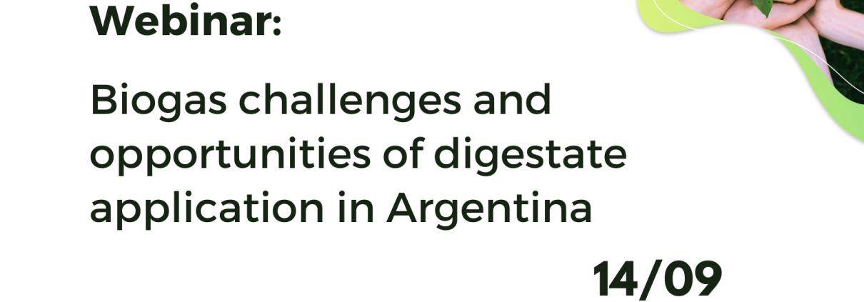 Webinar Digestate Biogas